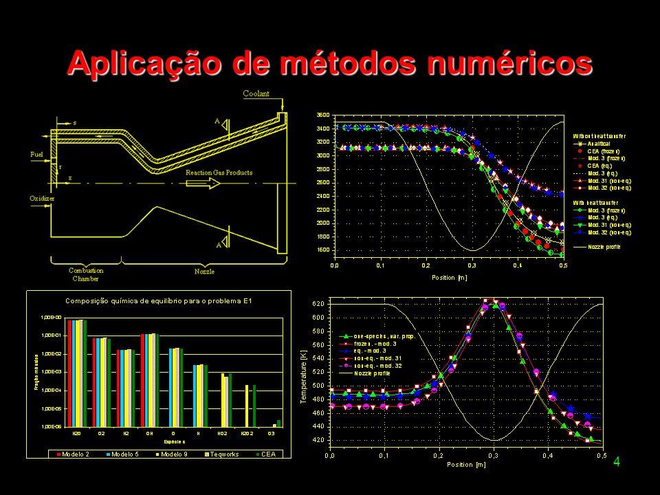 4 Aplicação de métodos numéricos