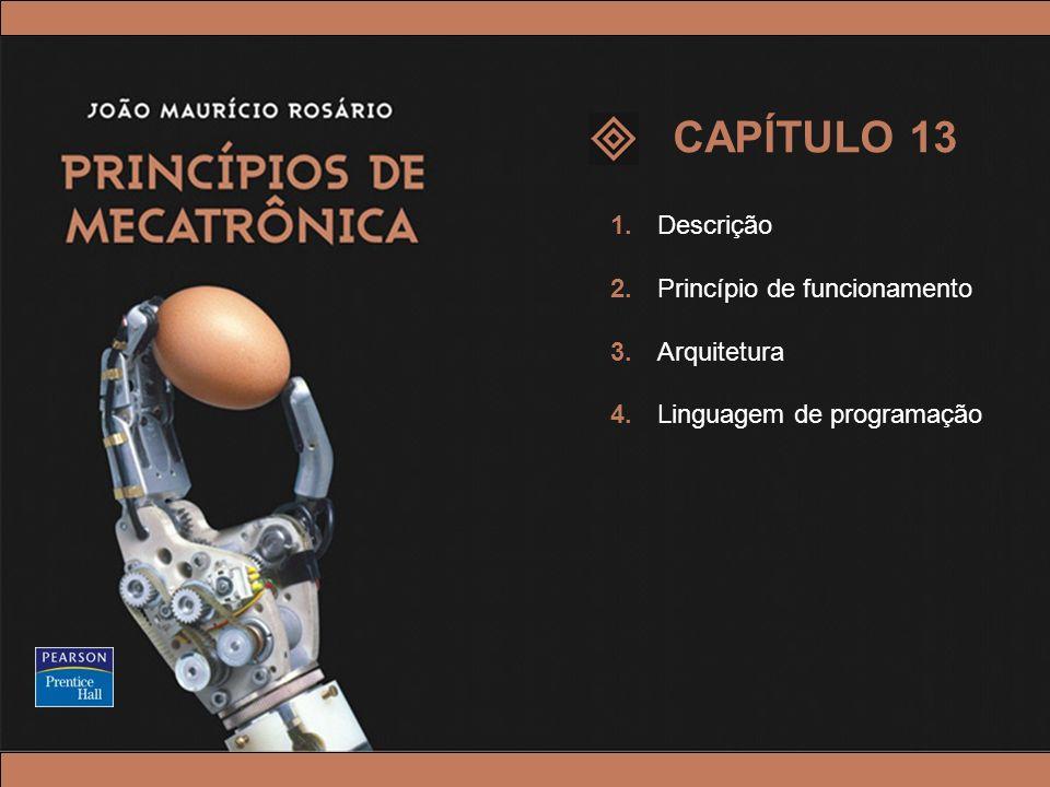 © 2005 by Pearson Education Princípios de Mecatrônica – João Maurício Rosário – © 2005 Pearson Education, Inc. 1. Descrição 2. Princípio de funcioname