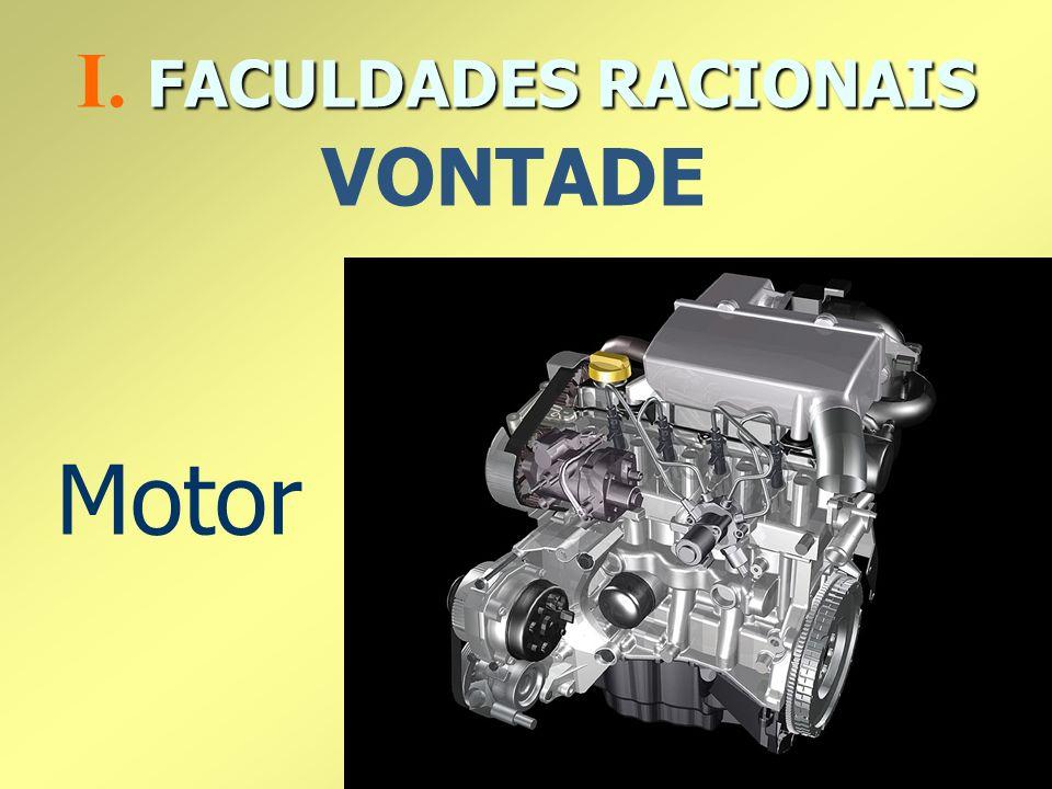 Motor FACULDADES RACIONAIS I. FACULDADES RACIONAIS VONTADE
