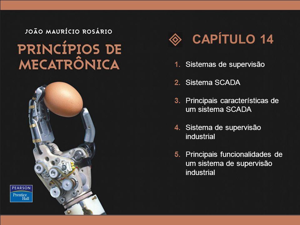© 2005 by Pearson Education Princípios de Mecatrônica – João Maurício Rosário – © 2005 Pearson Education, Inc. 1.Sistemas de supervisão 2.Sistema SCAD