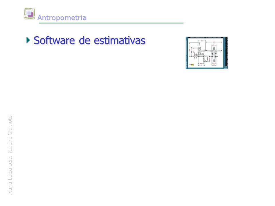 Maria Lucia Leite Ribeiro Okimoto Antropometria Antropometria Software de estimativas