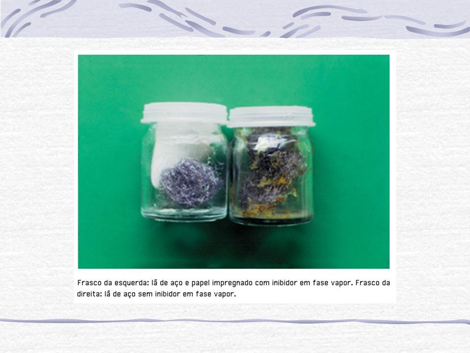 Uma composição típica de desengraxe alcalino eletrolítico é: Para o aço: Hidróxido de sódio35 g/l Carbonato de sódio25 g/l Lauril sulfato de sódio 1 g/l T = 70 80 o C t = 1 – 2 min.