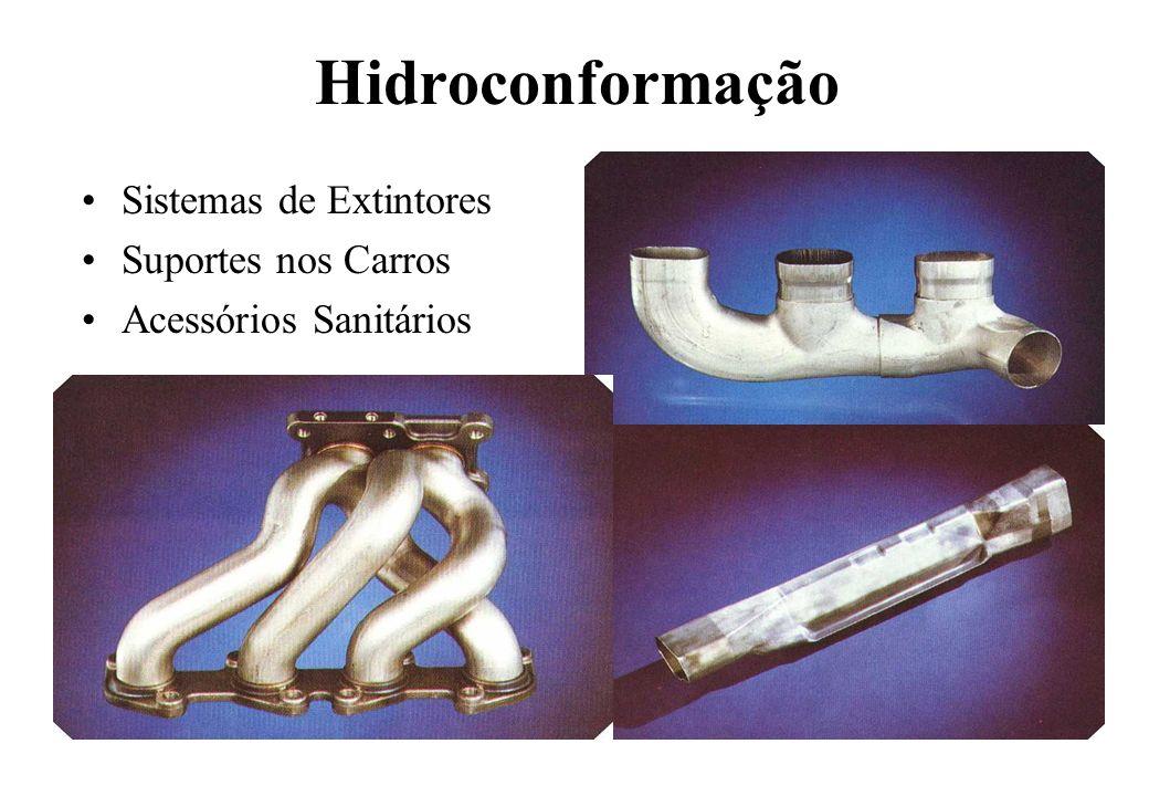 Hidroconformação Sistemas de Extintores Suportes nos Carros Acessórios Sanitários