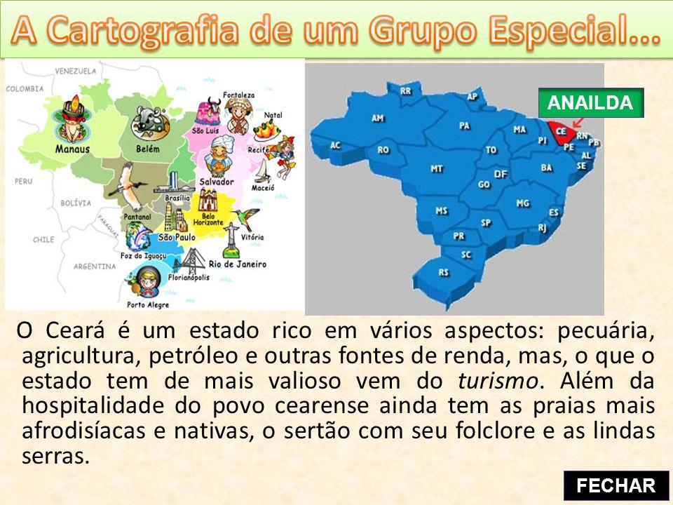 O Ceará é um estado rico em vários aspectos: pecuária, agricultura, petróleo e outras fontes de renda, mas, o que o estado tem de mais valioso vem do