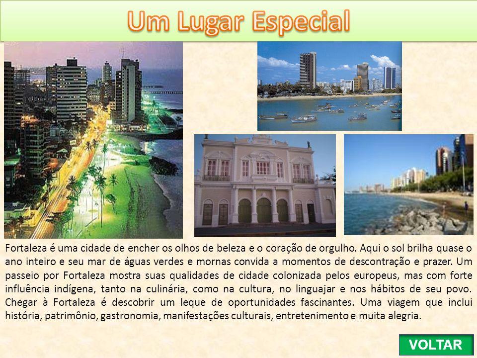 Fortaleza é uma cidade de encher os olhos de beleza e o coração de orgulho. Aqui o sol brilha quase o ano inteiro e seu mar de águas verdes e mornas c