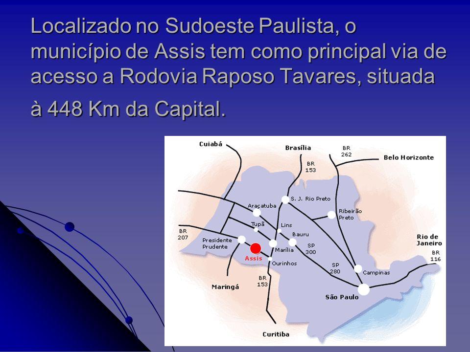 É um entroncamento rodoviário importante entre os Estados de São Paulo, Paraná e Mato Grosso do Sul, e viabiliza um acesso estratégico para o Mercosul.