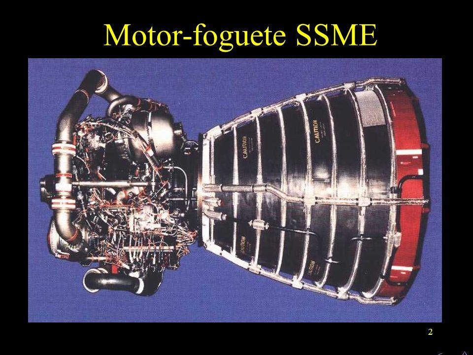 2 Motor-foguete SSME < ^