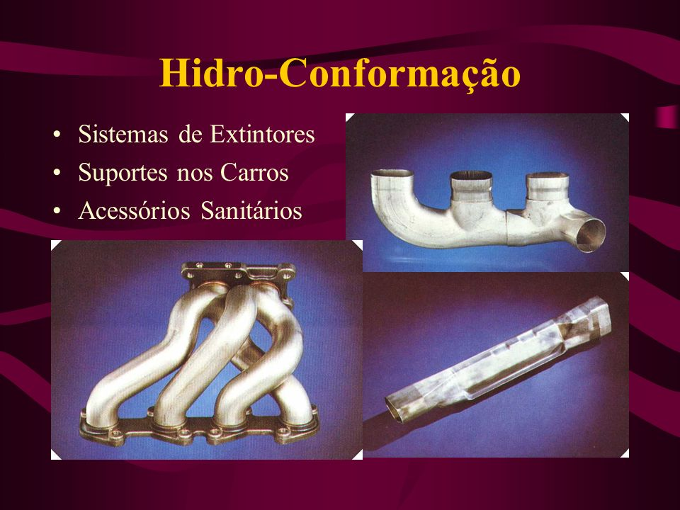 Hidro-Conformação Sistemas de Extintores Suportes nos Carros Acessórios Sanitários