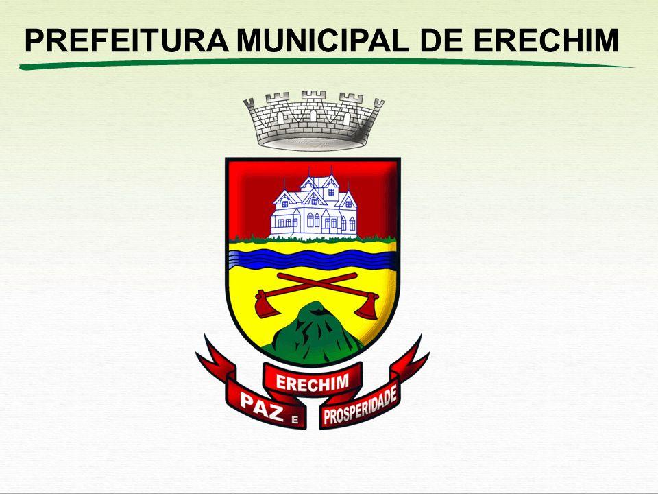 Prefeitura Municipal de Erechim L D O - 2 0 1 3 DESPESAS CORRENTES COMUNS DE CADA ORGÃO DE GOVERNO Material de Consumo Combustíveis e Lubrificantes.
