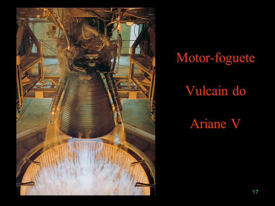 17 Motor-foguete Vulcain do Ariane V