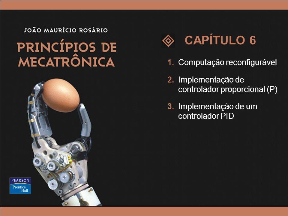 © 2005 by Pearson Education Princípios de Mecatrônica – João Maurício Rosário – © 2005 Pearson Education, Inc. 1.Computação reconfigurável 2.Implement