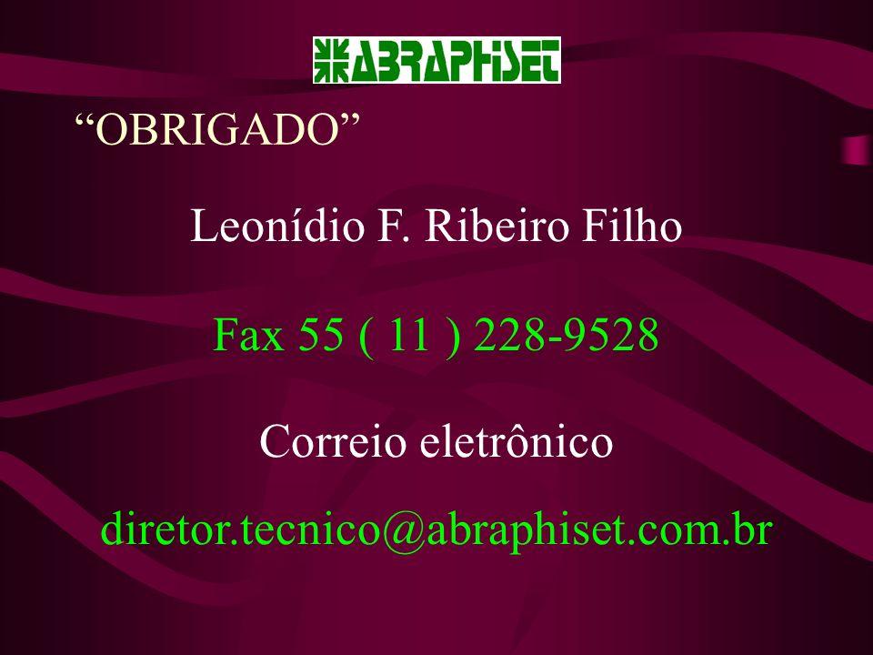 OBRIGADO Leonídio F.