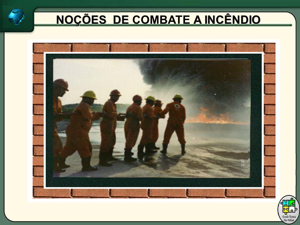 NOÇÕES DE A INCÊNDIO NOÇÕES DE COMBATE A INCÊNDIO