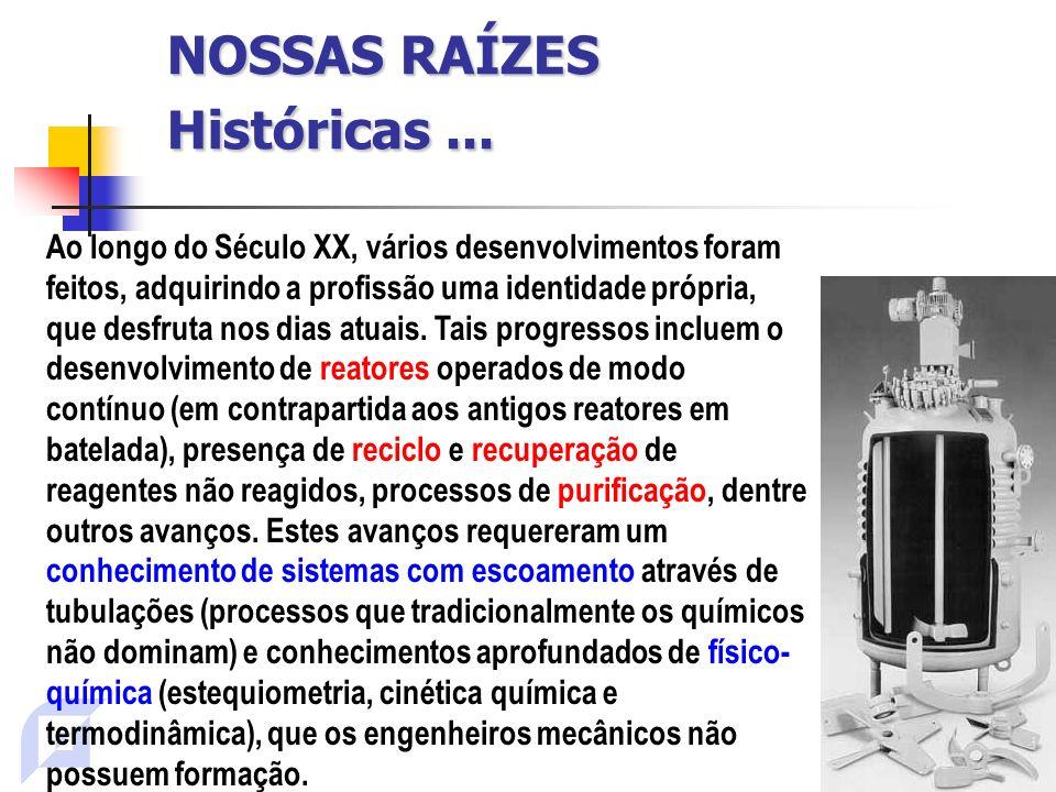NOSSAS RAÍZES Históricas...