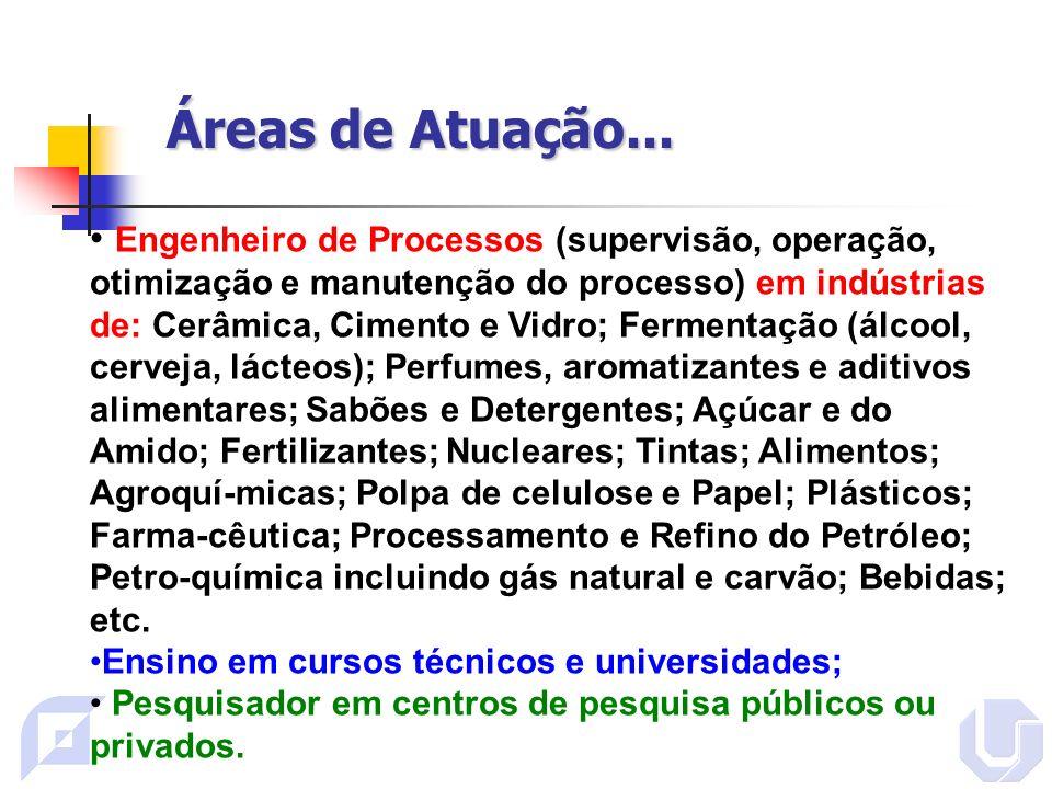 Áreas de Atuação...Exemplo: Simulação de Processos http://www.aracruz.com.