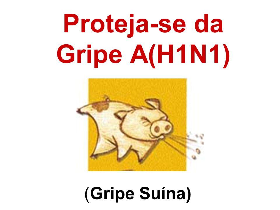 (Gripe Suína) Proteja-se da Gripe A(H1N1)
