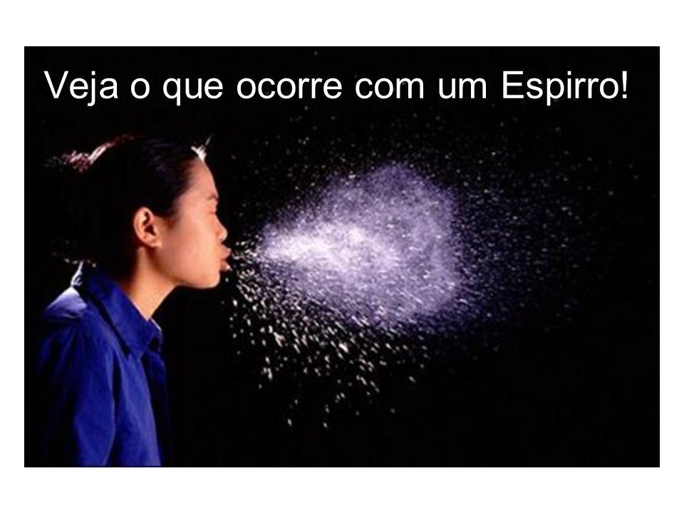 Veja o que ocorre com um Espirro!