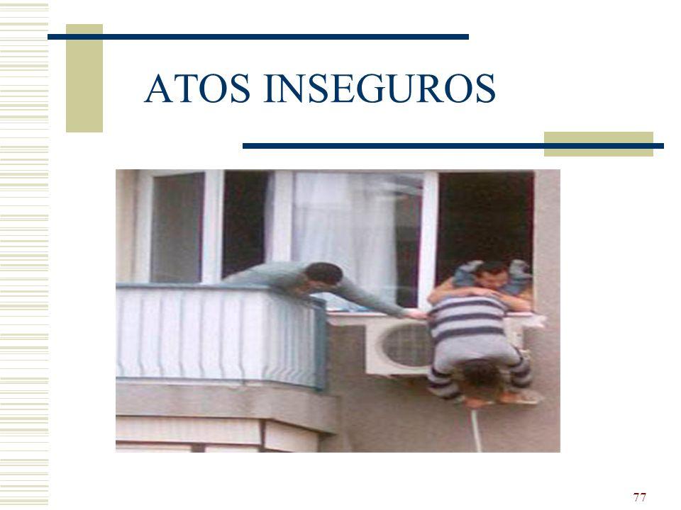 77 ATOS INSEGUROS