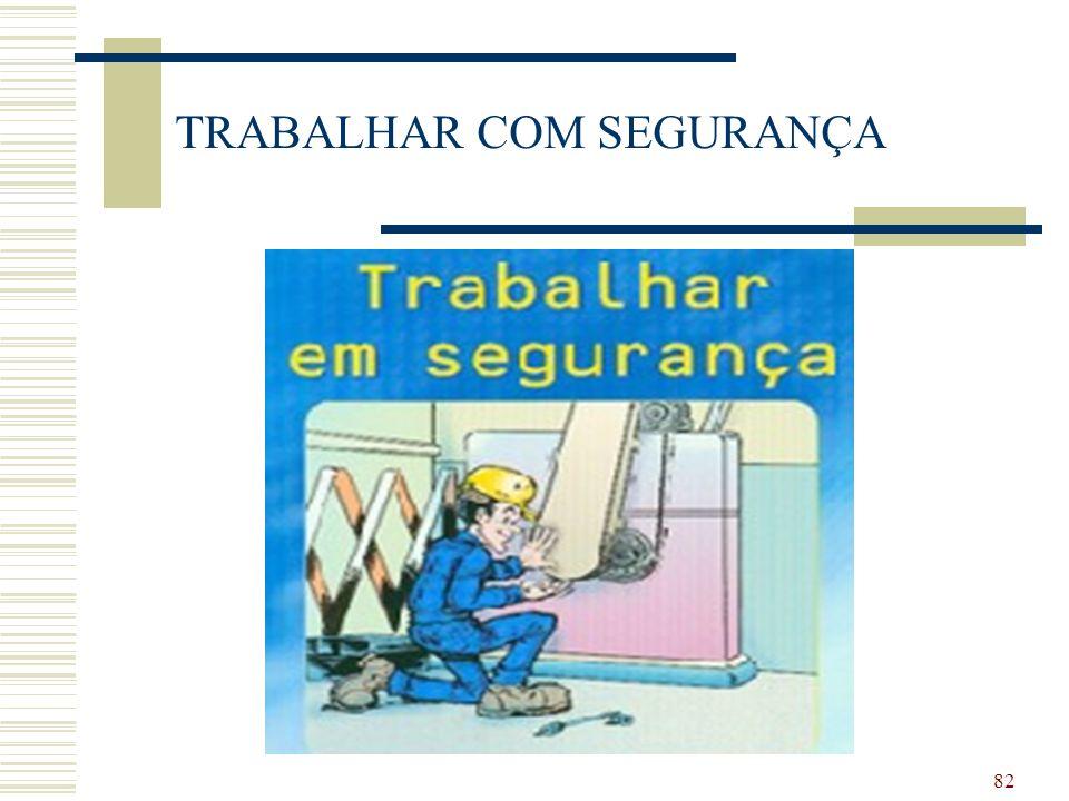 82 TRABALHAR COM SEGURANÇA