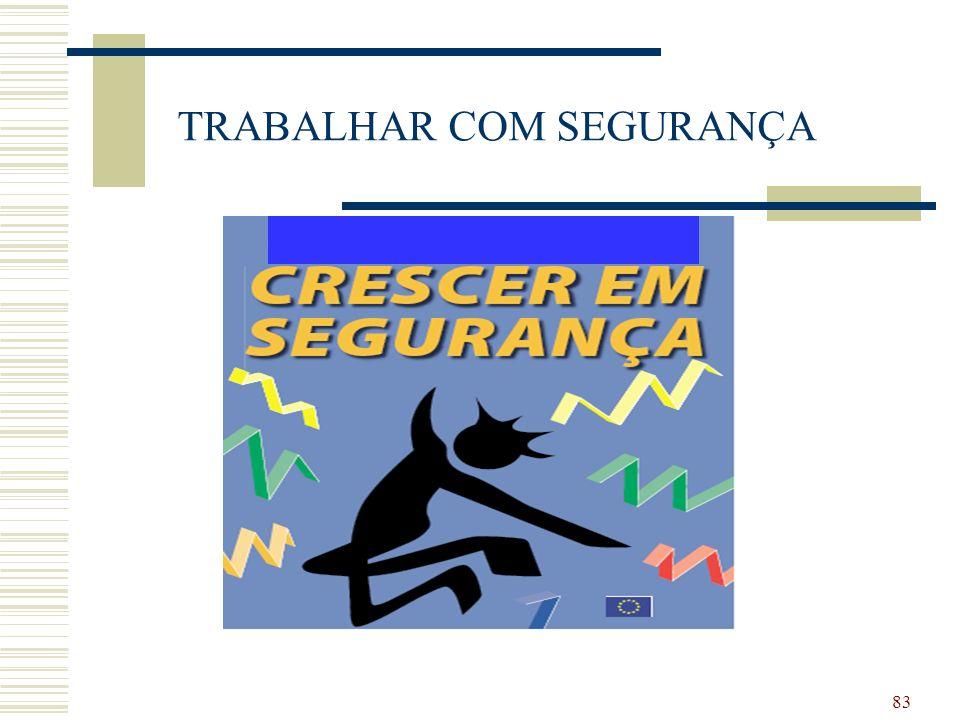83 TRABALHAR COM SEGURANÇA