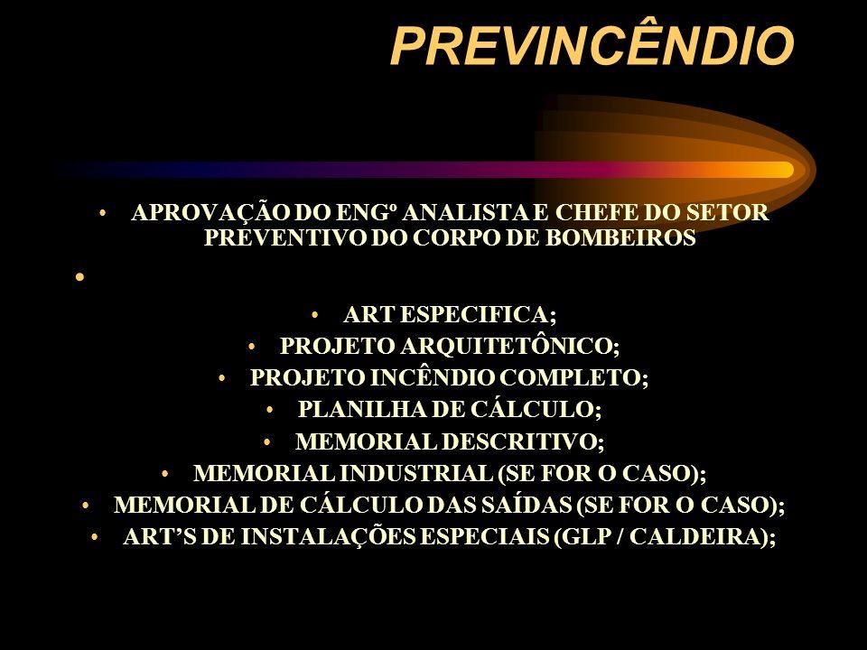 ELEMENTOS DO PROJETO: PLANTA DE SITUAÇÃO-MODELO PADRÃO CB; PLANTA DE TODOS OS PAVIMENTOS; CORTE ESQUEMÁTICO / SISTEMA FIXO POR HIDRANTES; DETALHES (ESCADA / GLP / EXTINTORES / HIDRANTES); OUTROS DETALHES (MOTO BOMBAS / PRESSURIZAÇÃO); INFOMAÇÕES SOBRE PROTRÇÃO TUBULAÇÕES; TIPO DE SISTEMA PREVENTIVO