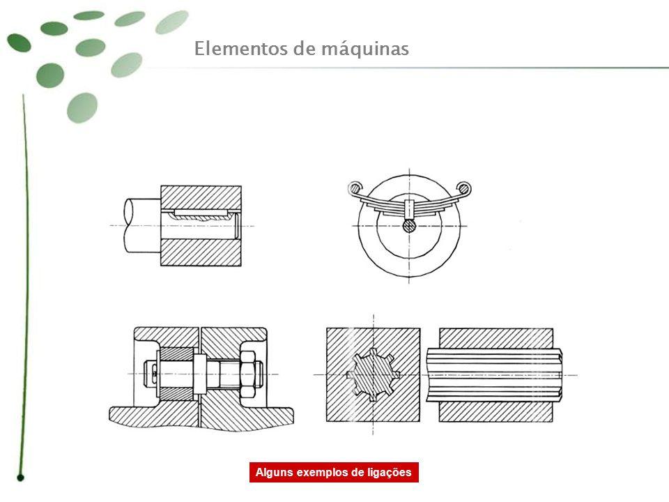Elementos de máquinas Alguns exemplos de ligações