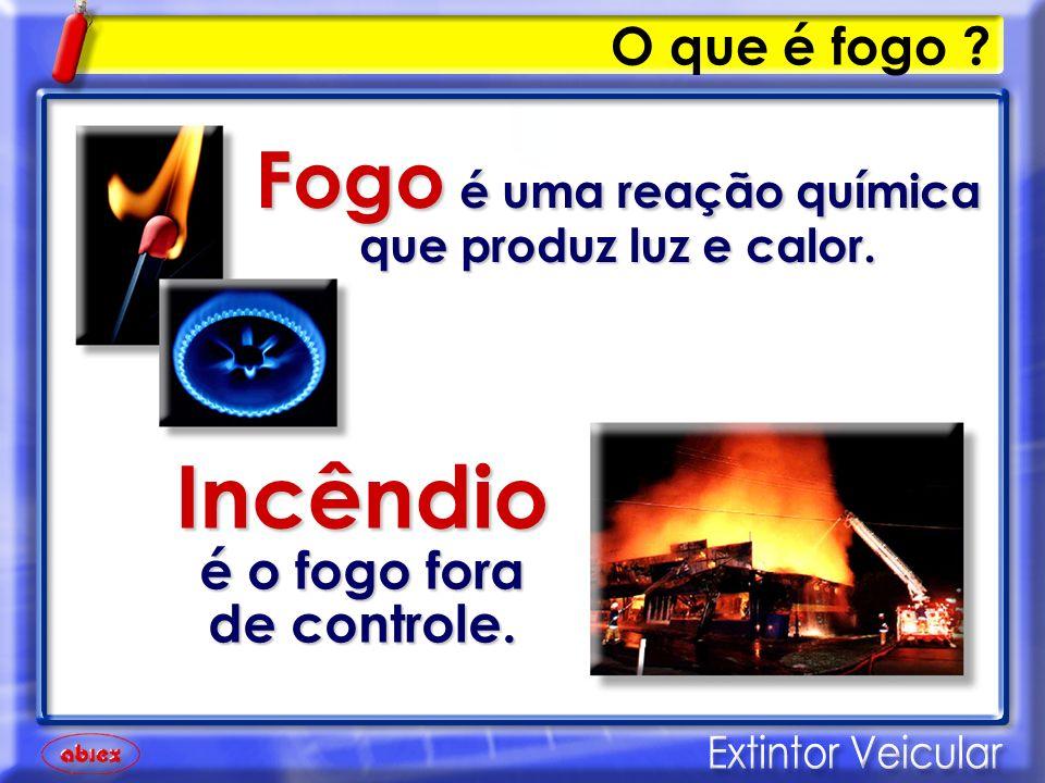 Triângulo do fogo Para o fogo existir, são necessários os três elementos.