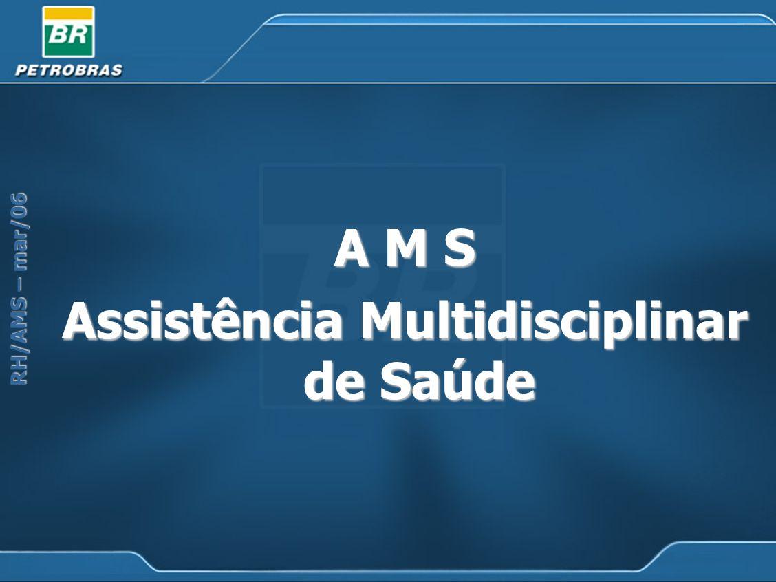 RH/AMS – mar/06 A M S Assistência Multidisciplinar de Saúde