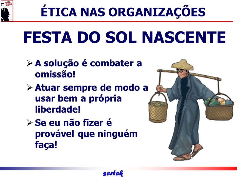 sertek Capital Humano Capital ético-social Capital intelectual ÉTICA NAS ORGANIZAÇÕES