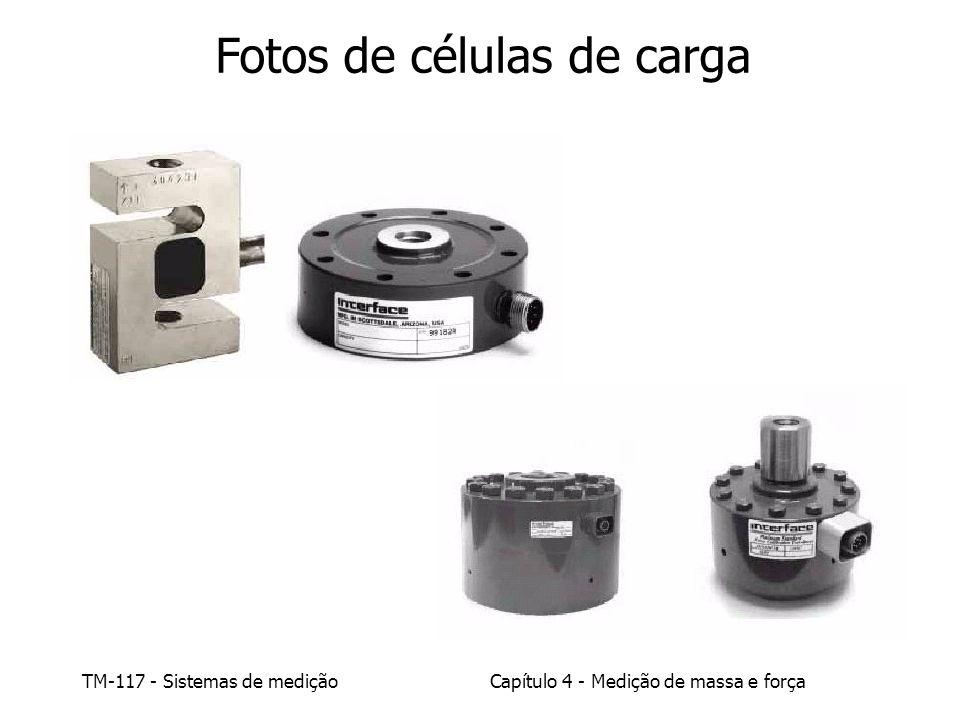 TM-117 - Sistemas de mediçãoCapítulo 4 - Medição de massa e força Fotos de células de carga