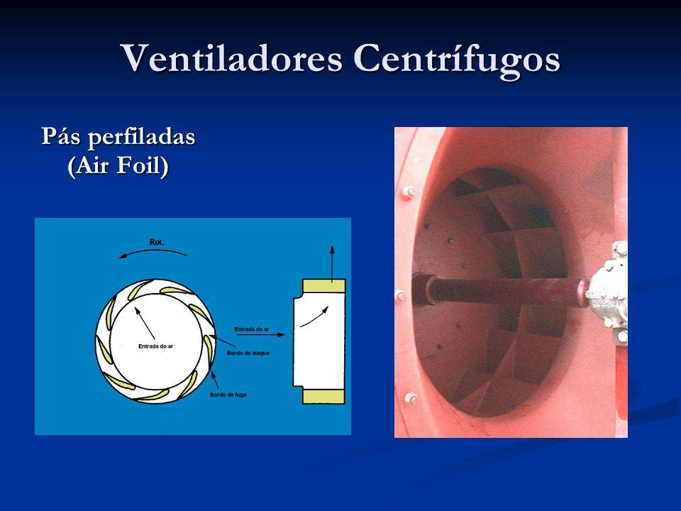 Variação da Densidade Aplicação das leis dos ventiladores para máquinas geometricamente semelhantes e com variação na densidade.