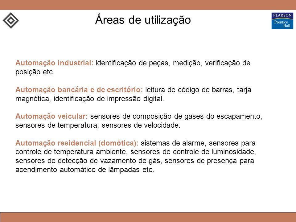 Automação industrial: identificação de peças, medição, verificação de posição etc.