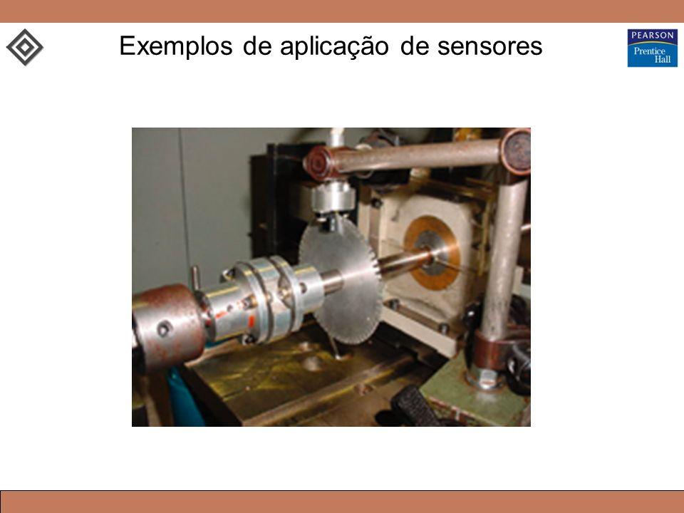 Exemplos de aplicação de sensores