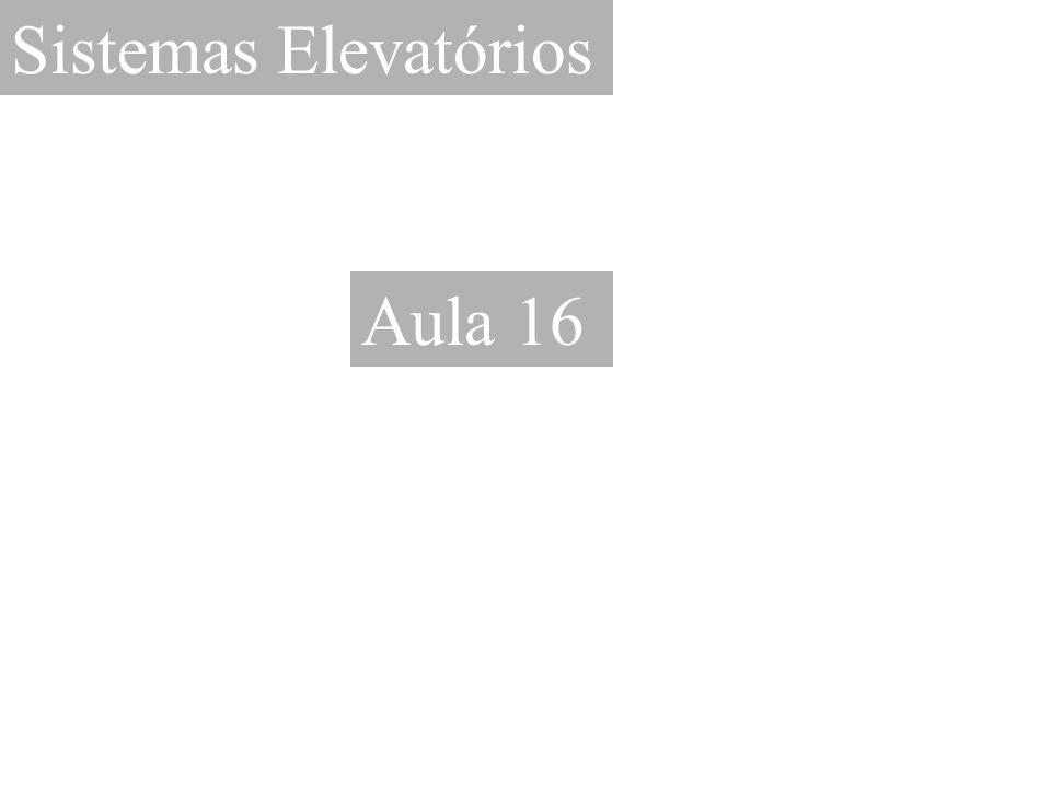 Sistemas Elevatórios Aula 16