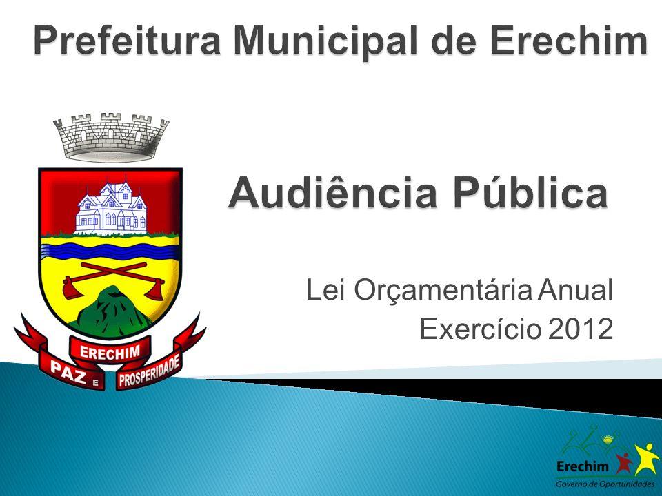Lei Orçamentária Anual Exercício 2012
