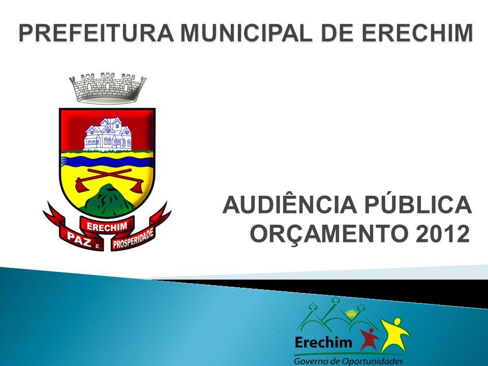 AUDIÊNCIA PÚBLICA ORÇAMENTO 2012