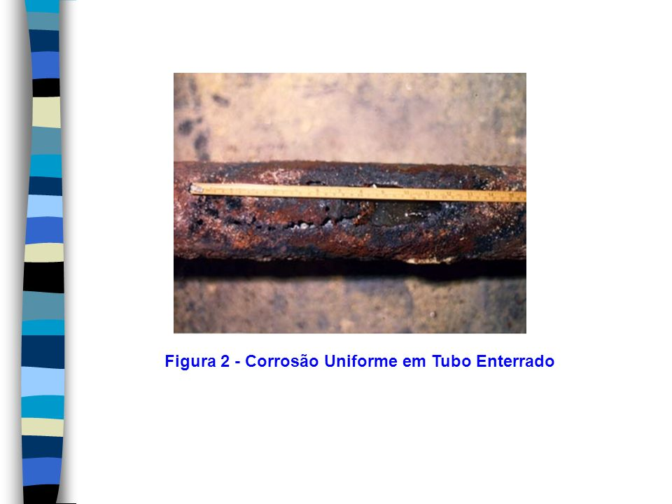 Solução Uso de tubulação de aço inoxidável AISI 316 L e, se possível operacionalmente, elevação do valor de pH, diminuição da temperatura e da quantidade de cloreto.