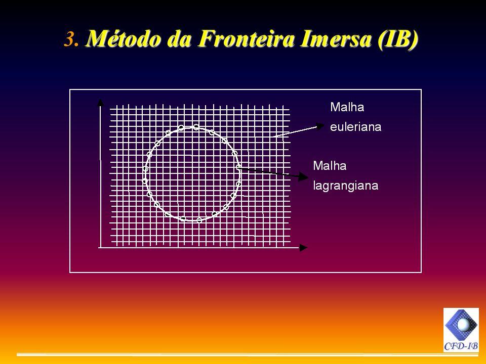 Método da Fronteira Imersa (IB) 3. Método da Fronteira Imersa (IB)