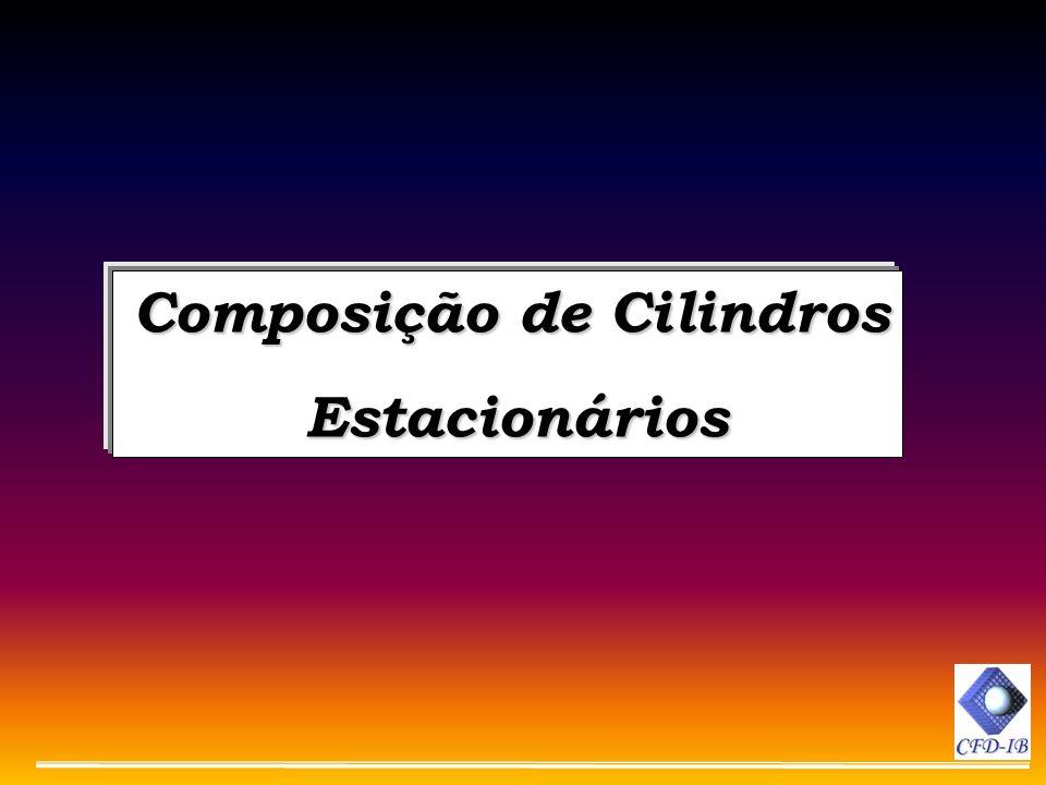 Composição de Cilindros Estacionários Estacionários