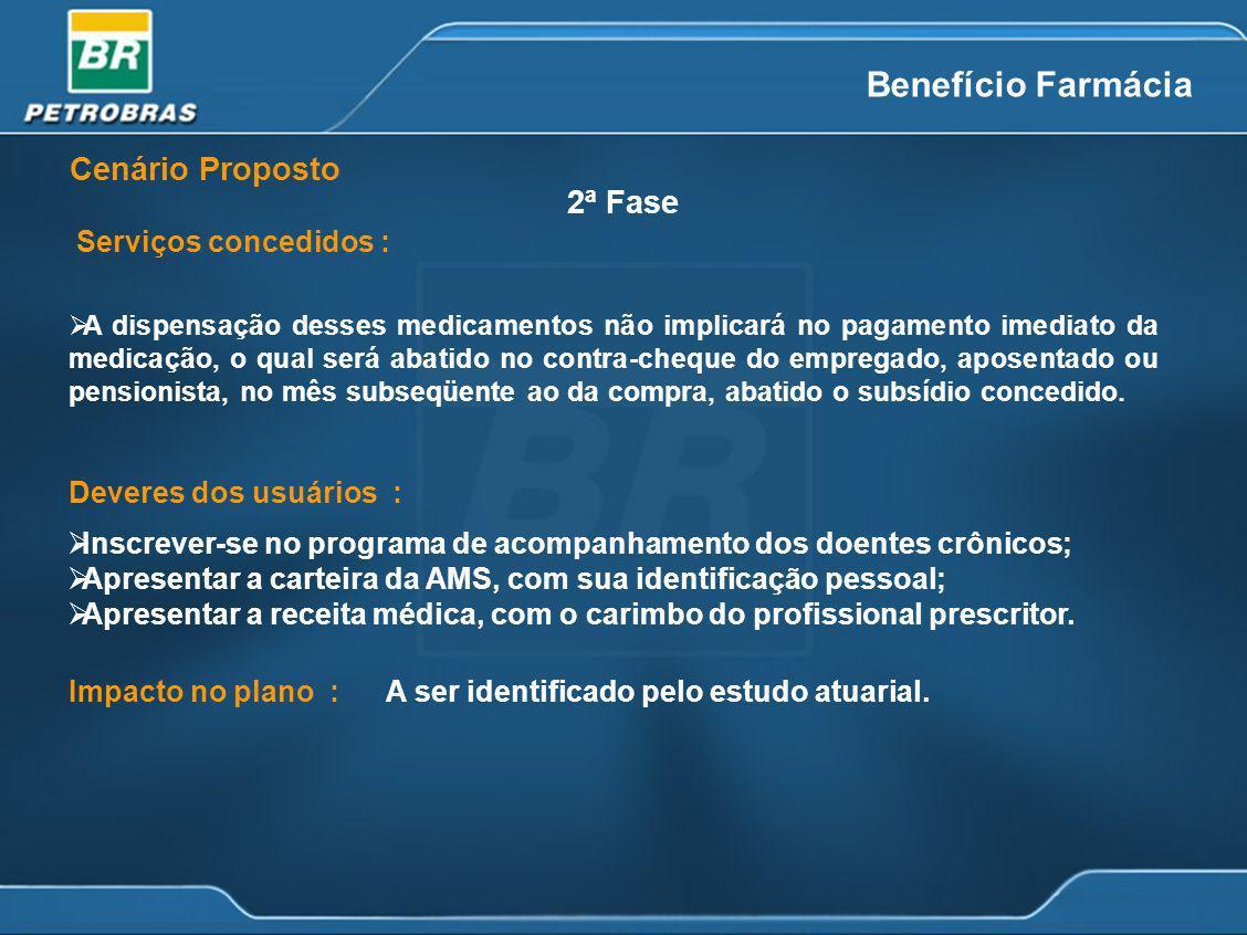 Deveres dos usuários : Inscrever-se no programa de acompanhamento dos doentes crônicos; Apresentar a carteira da AMS, com sua identificação pessoal; A