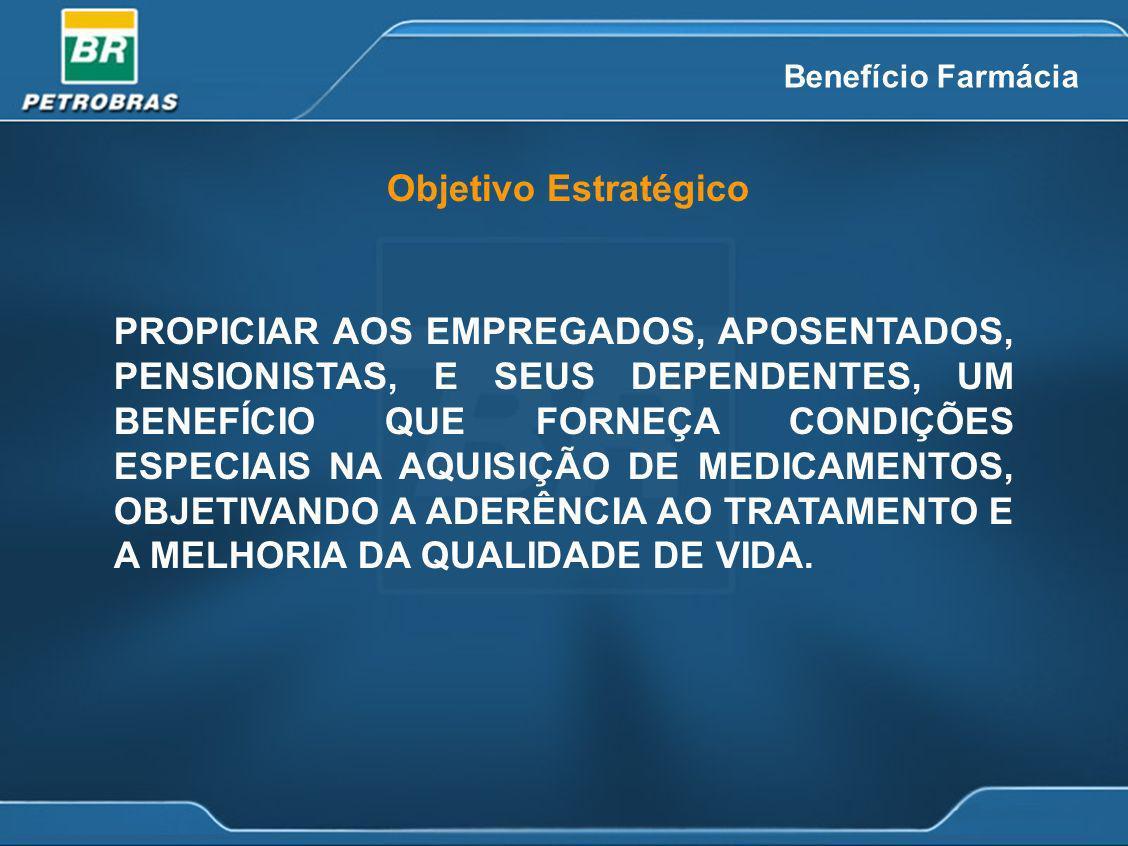Objetivo Estratégico PROPICIAR AOS EMPREGADOS, APOSENTADOS, PENSIONISTAS, E SEUS DEPENDENTES, UM BENEFÍCIO QUE FORNEÇA CONDIÇÕES ESPECIAIS NA AQUISIÇÃ
