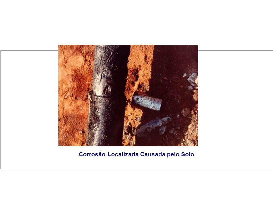 Corrosão Localizada Causada pelo Solo