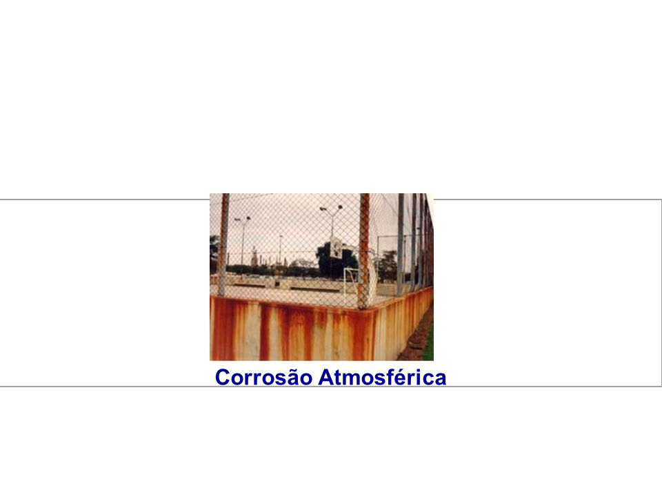 Corrosão Atmosférica