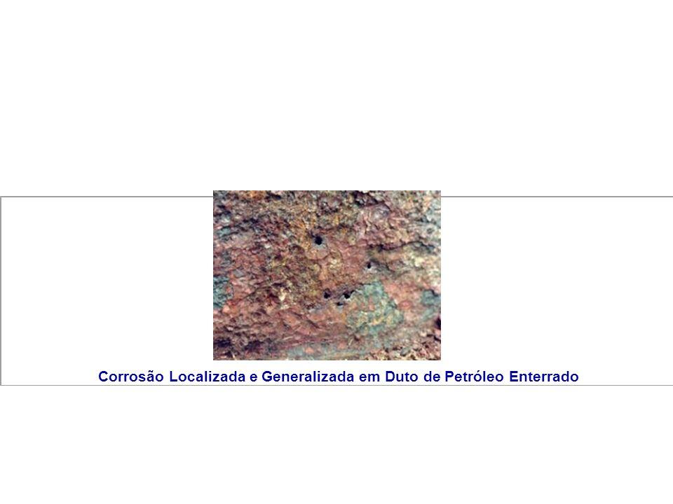 Corrosão Localizada e Generalizada em Duto de Petróleo Enterrado