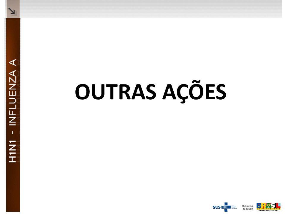 Ministério da Saúde OUTRAS AÇÕES