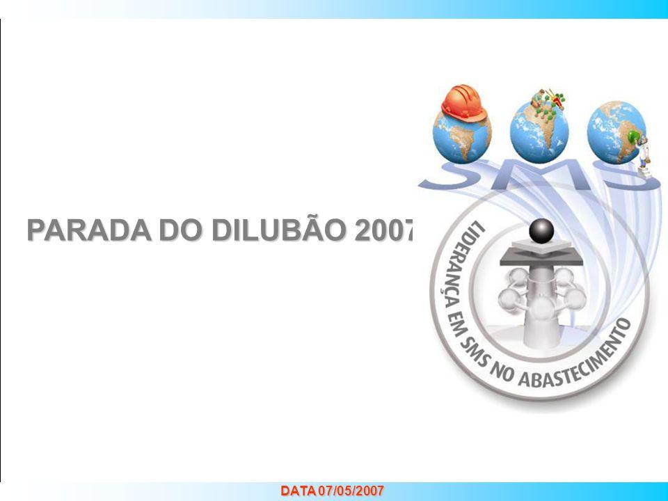 LIDERANÇA EM SMS NO ABASTECIMENTO Priorização de Atividades e Projetos PARADA DO DILUBÃO 2007 DATA 07/05/2007
