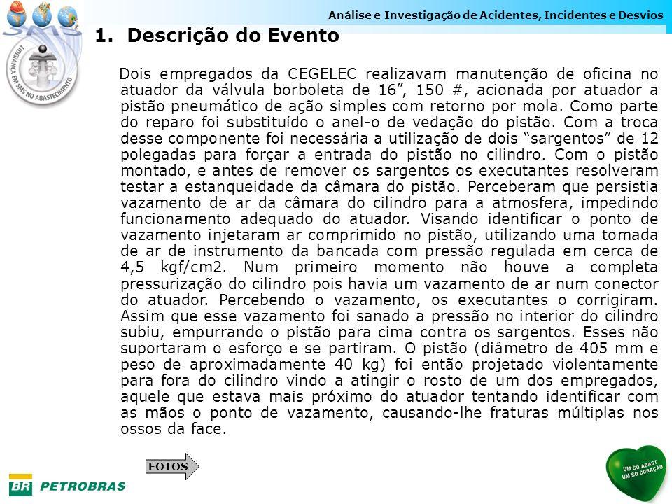 Análise e Investigação de Acidentes, Incidentes e Desvios 1.