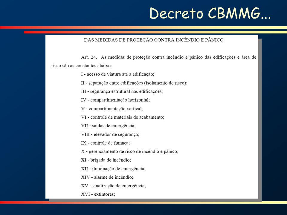 Decreto CBMMG...