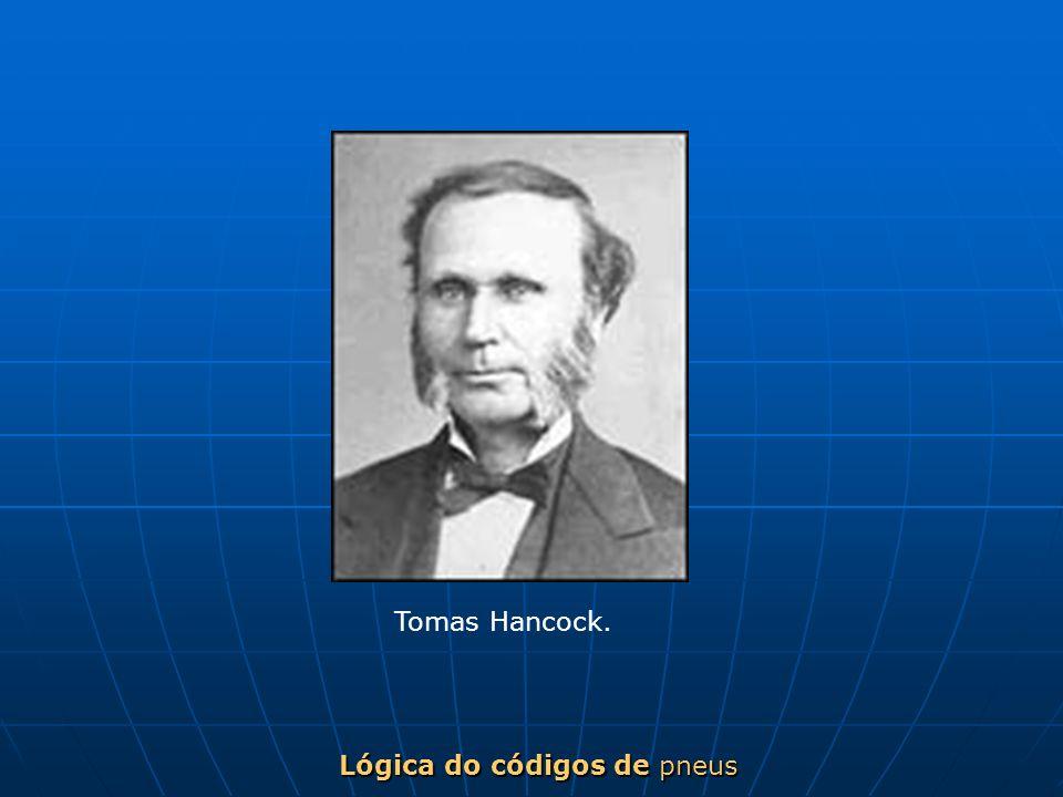 Lógica do códigos de pneus Tomas Hancock.