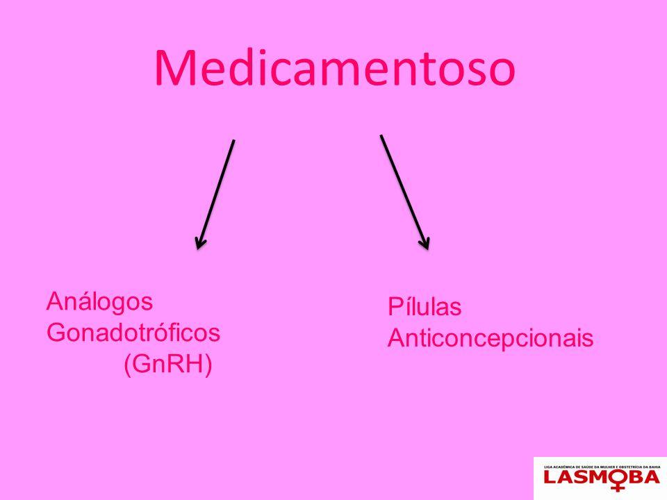 Cirúrgico HisterectomiaMiomectomia Via vaginal Laparoscópica Abdominal Histeroscópica Laparoscópica Abdominal